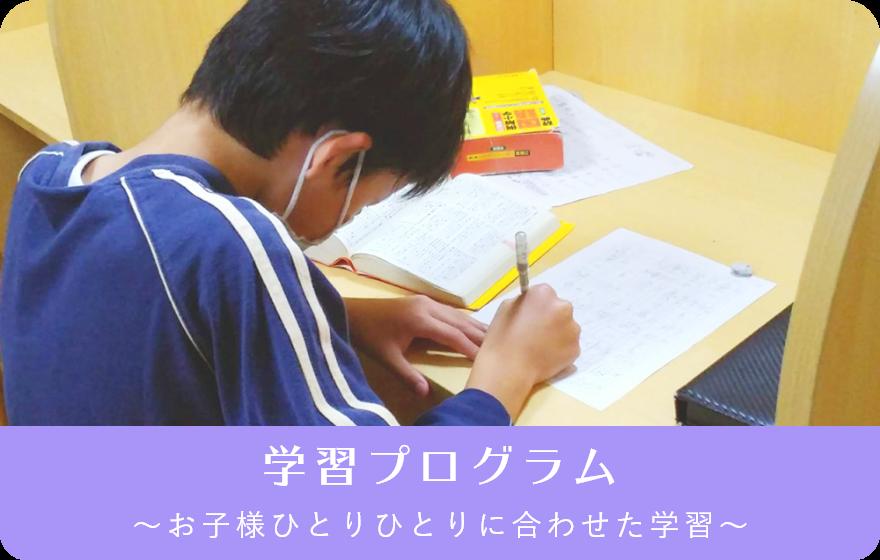 学習プログラム